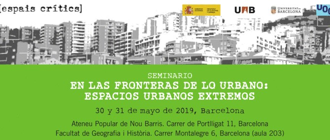 Seminari RESDERES 2019,Barcelona